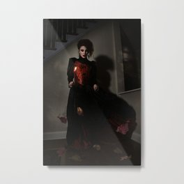 The Haunted One Metal Print