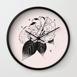 Rose and Sparrow Wall Clock