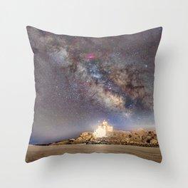 Good Harbor Beach Milkyway 4-4-16 Throw Pillow