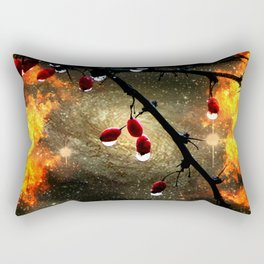Consumed Rectangular Pillow