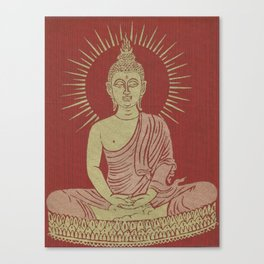 Power of Now collected from Thailand Canvas Print