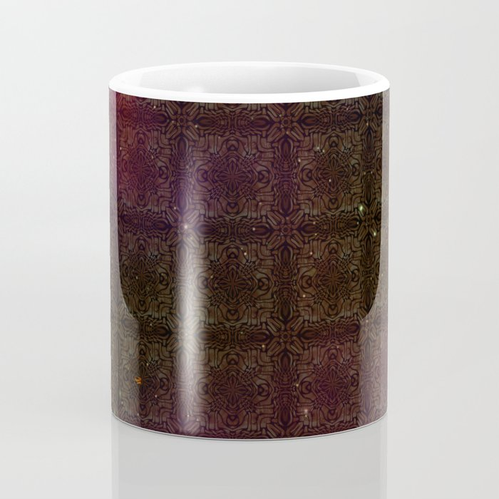 Starfield Grid Coffee Mug