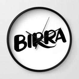 Birra Wall Clock