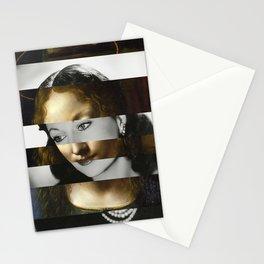 Leonardo Da Vinci's Madonna from The Virgin of the Rocks & Vivien Leigh Stationery Cards