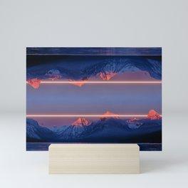 Laserscape Mini Art Print
