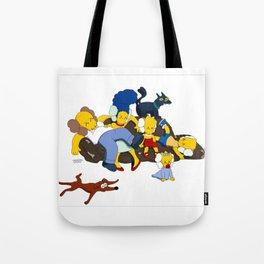 Kaws Nigo Kimpsons Family Tote Bag