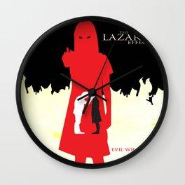The Lazarus Effect Movie Minimalist Poster Wall Clock