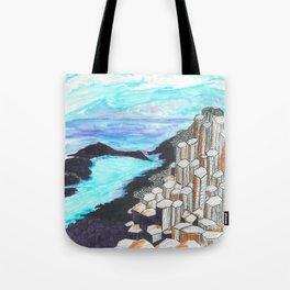 The Giants Causeway Tote Bag