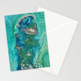 Ice Scours the North Caspian Sea Stationery Cards