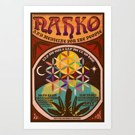 Nahko & Medicine for the People | Fan Made Poster Art Print