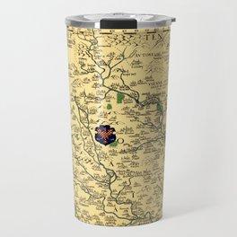 Map of Moravia 1569 Travel Mug