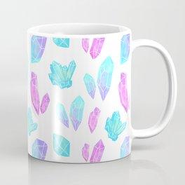 Pastel Watercolor Crystals Coffee Mug