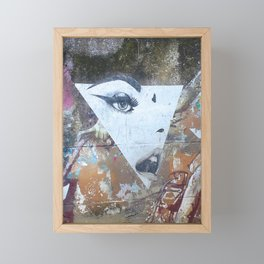 Not Every Succesful Woman is in the Illuminati Framed Mini Art Print