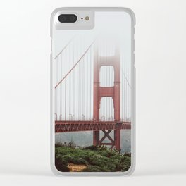 Golden Gate Bridge Clear iPhone Case