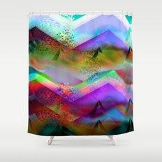 Ocean-Race  no21 Shower Curtain