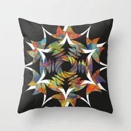 Galaxy - Crop Circle Throw Pillow