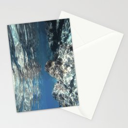 Just Below The Surface;  Snorkeling in The Virgin Islands. Stationery Cards