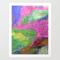 Lyrical Landscape Art Print