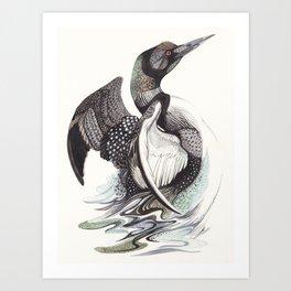 The Loon Art Print