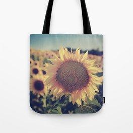 """""""Sunflowers"""" Vintage dreams Tote Bag"""