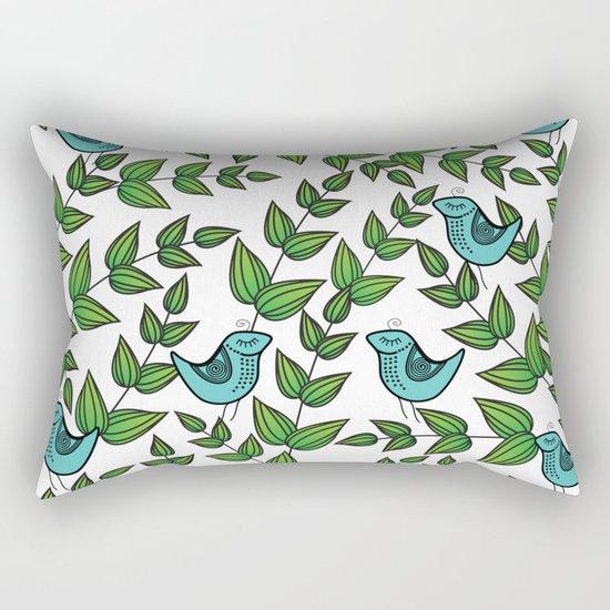 Pattern P Rectangular Pillow