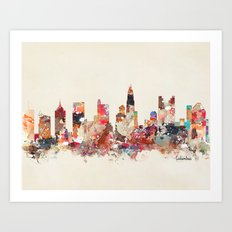 columbus ohio Art Print