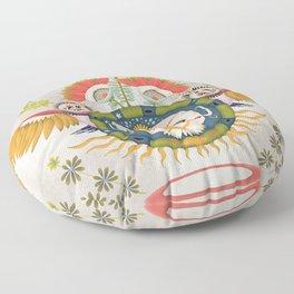 Inca Owl Floor Pillow