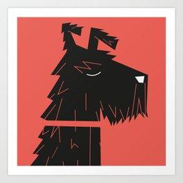 Dog_12 Art Print