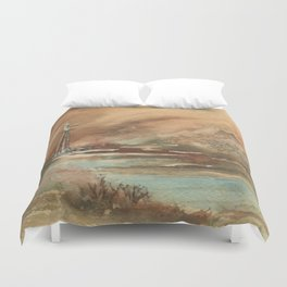 Water Rights Duvet Cover