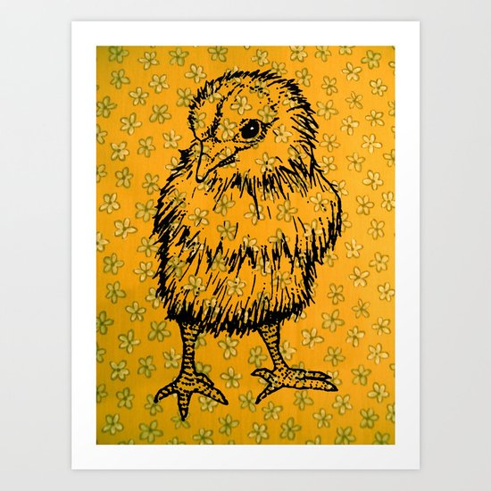 biddy Art Print