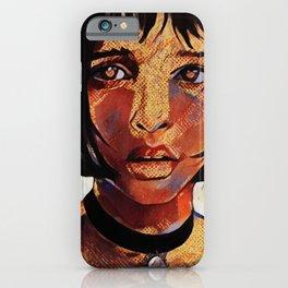 Grunge Mathilda iPhone Case