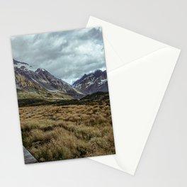 Hooker Valley, Mt Cook National Park Stationery Cards