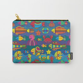 Stylize fantasy fishes under water Carry-All Pouch