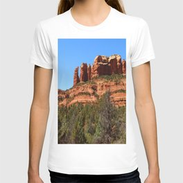 Red Sandstone Rockformation T-shirt