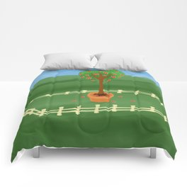 Hearty Topiary Comforters