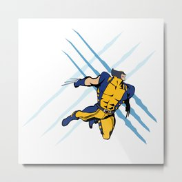 WEAPON X Metal Print