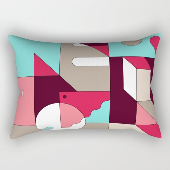 Abstraction I Rectangular Pillow