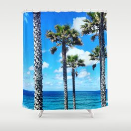 This is California Shower Curtain