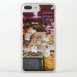 Chinatown Shellfish Clear iPhone Case