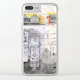 House project drawing Clear iPhone Case