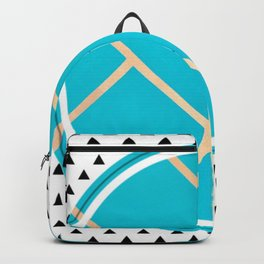 Leaf - small triangle graphic Backpack