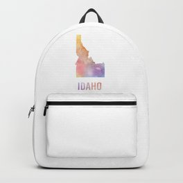 Watercolor State - ID Backpack