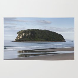 Coastal landscape Rug