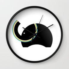 Retro Elephant Wall Clock