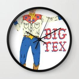 BIG TEX Wall Clock