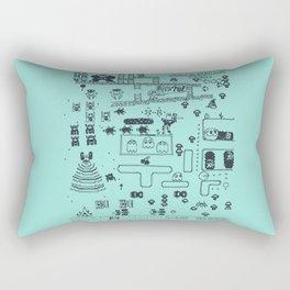 Retro Arcade Mash Up Rectangular Pillow