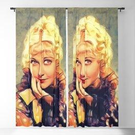 Una Merkel, Vintage Actress Blackout Curtain