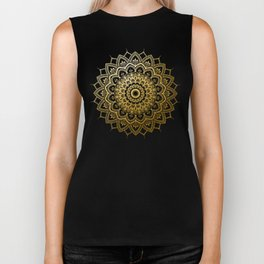 Pleasure Gold Biker Tank
