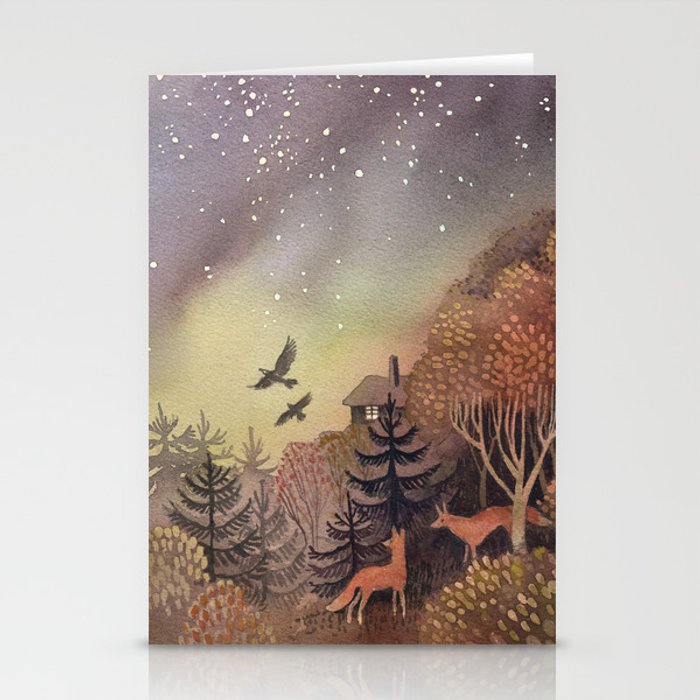 North Sky Stationery Cards
