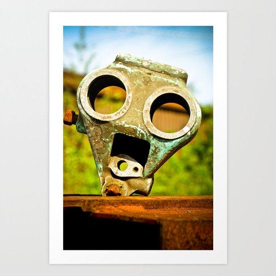 Billy Bot Art Print